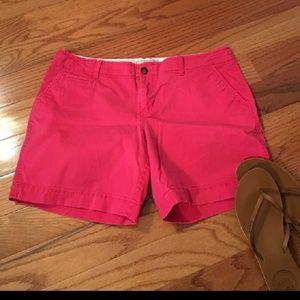 Hot pink old navy shorts